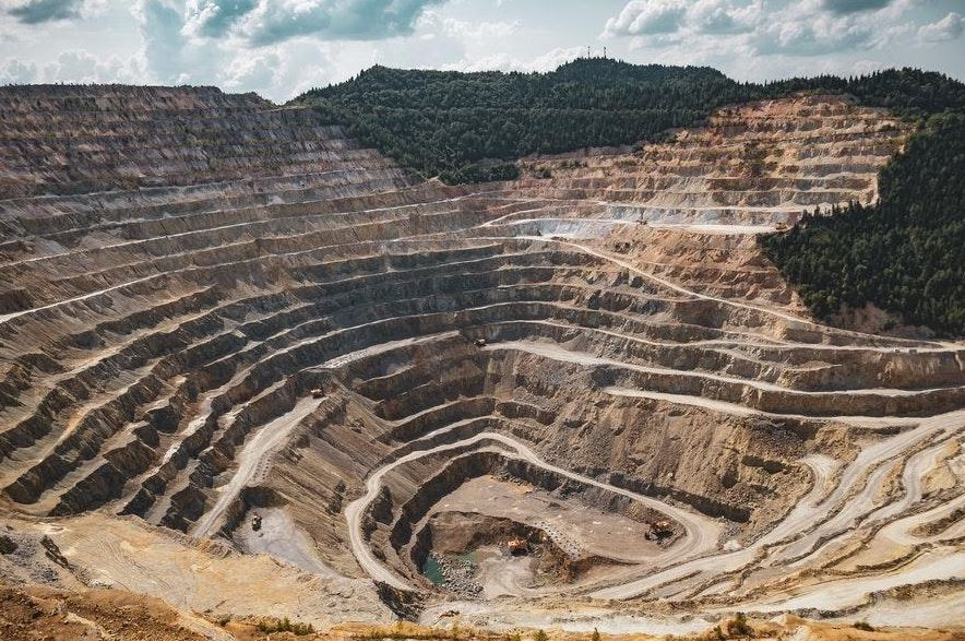 sal en la mineria