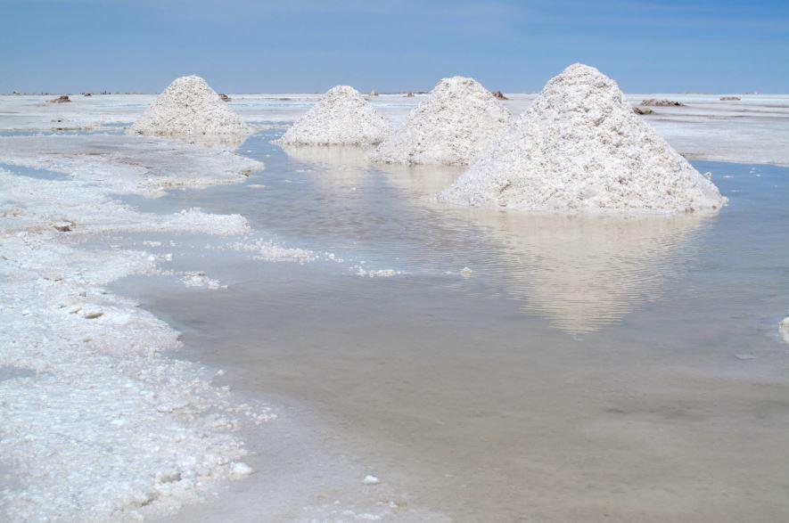 obtención de la sal de mar