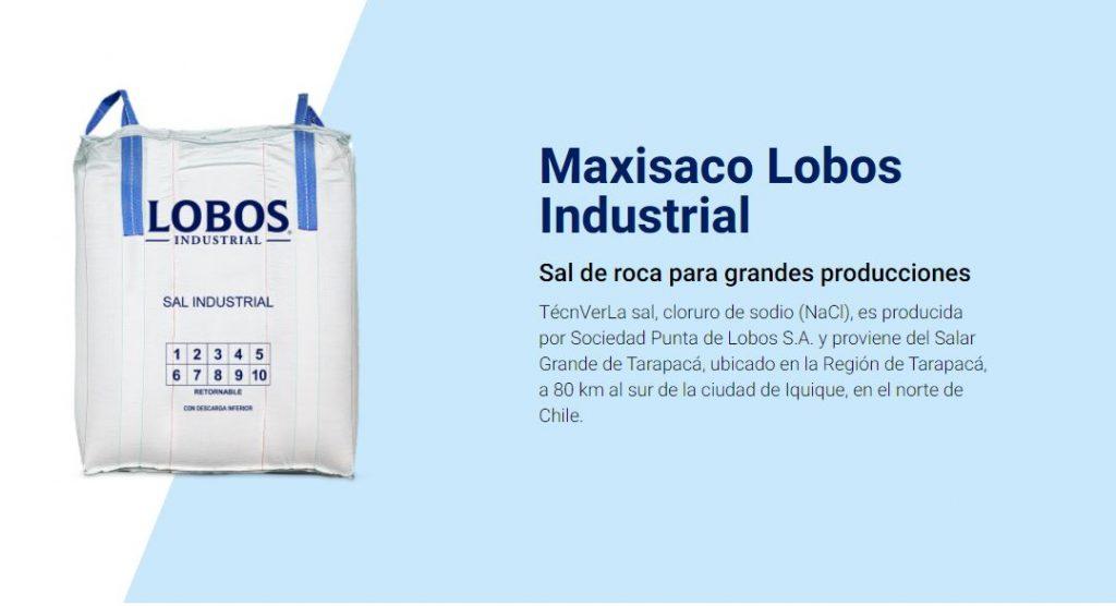 tipos de sacos industriales