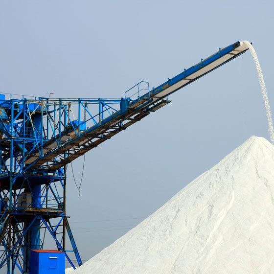 Distribución Internacional de Sal a Granel