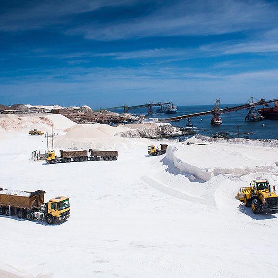 Empresa de extracción de Sal en Chile